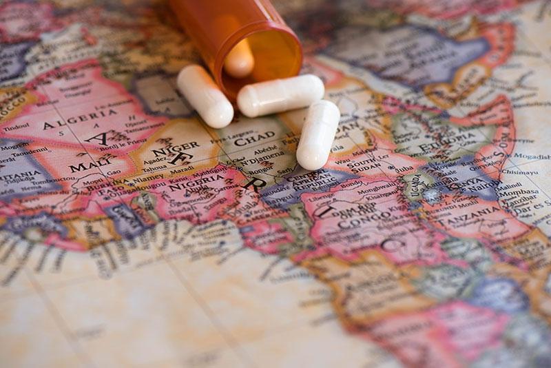 Medicamento esencial para un viaje