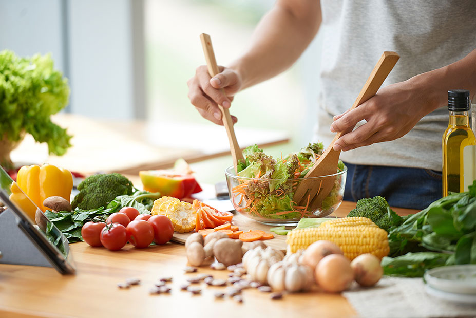 Comida saludable para el cansancio