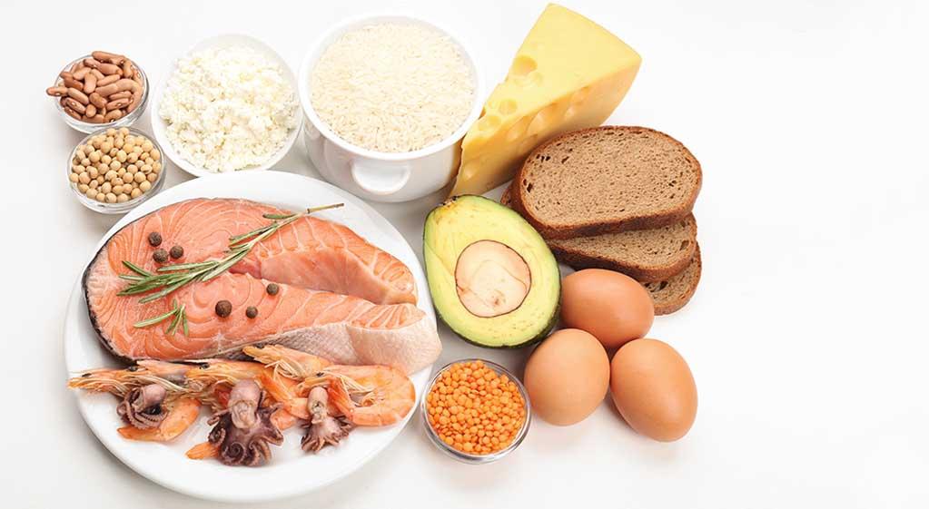Diferentes proteínas
